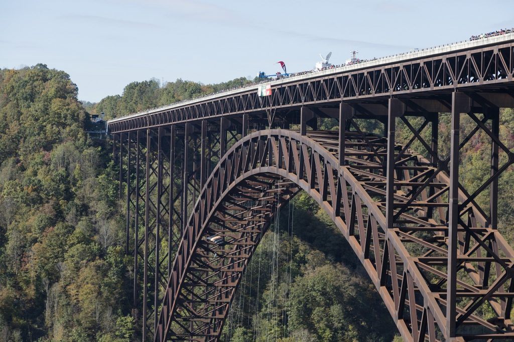 New River Gorge, Steel Arch Bridge WV, Travel WV, RV Travel, Travel USA, Roadschool, Live Simply, Simply Living
